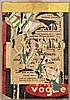 Raymond HAINS (1926-2005) SANS TITRE, 1958 Affiches lacérées marouflées sur toile de jute
