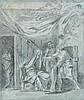 Pierre-Paul Prud'hon Cluny, 1758 - Paris, 1823 La robe de Joseph rapportée à son père Jacob Pierre noire, lavis gris et rehauts de c..
