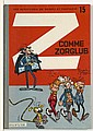 FRANQUIN SPIROU ET FANTASIO - N°15 Z COMME ZORGLUB