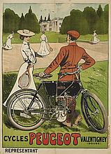 Ernest THELEM, Ernest Barthélemy LEM dit (1869 - 1930)  CYCLES PEUGEOT