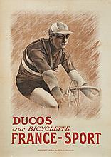 ANONYME  DUCOS SUR BICYCLETTE FRANCE - SPORT