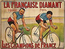 Maurice MARODON  LA FRANCAISE DIAMANT - E. GEORGET ET FRIOL CHAMPIONS DE FRANCE