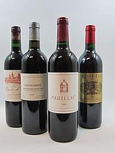 9 bouteilles 6 bts : PAUILLAC DU CH. LATOUR 2002 Pauillac