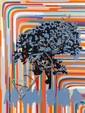 Gérard FROMANGER (né en 1939) ORANGE CLAIR, 1991 Huile sur toile
