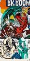 Gudmundur ERRO (né en 1932) BR BOOM, 1971 Acrylique sur toile