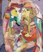 André LANSKOY (1902-1976) COMPOSITION Huile sur toile