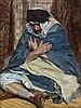 Marie-Aimée LUCAS ROBIQUET (1858 - 1959) LA PRIERE