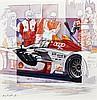 Michel LECOMTE (1935-2011)  Audi R15 n°1, les 24 Heures du Mans 2009
