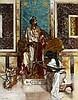 Rudolf ERNST (Vienne, 1854 - Paris, 1932) La présentation de l'épée au Pacha