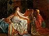 C. RICHTER (XIXe -XXe siècle) Le coffre aux soieries