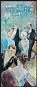Henri Gervex Paris, 1852 - 1929 Scène de bal Pastel et rehauts de lavis sur papier bistre