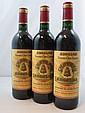 6 bouteilles CHÂTEAU ANGELUS 1990 GCC Saint Emilion