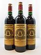 12 bouteilles CHÂTEAU ANGELUS 1995 GCC Saint Emilion