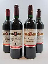 10 bouteilles 2 bts : CHÂTEAU CROIZET BAGES 1998 Pauillac