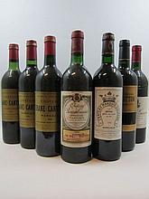 12 bouteilles 3 bts : CHÂTEAU MARQUIS D'ALESME BECKER 1996 3è GC Margaux