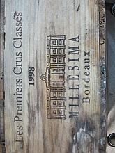 12 bouteilles CAISSE PANACHEE MILLESIMA 1998: