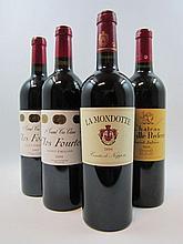 12 bouteilles 1 bt : CLOS FOURTET 2005 1er GCC (B) Saint Emilion