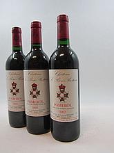 12 bouteilles CHÂTEAU LE BON PASTEUR 1992 Pomerol (base goulot