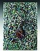 ARMAN (1928-2005) LE TITANIC - 1990 Colère de violoncelle, acrylique et tubes de peinture acrylique écrasés sur toile