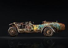 William CROZES (né en 1975)  Profil Bugatti Brescia Type 22 Roadster