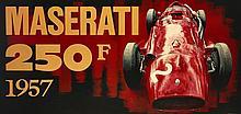 ¤ Tony UPSON  Maserati 250F - 1957