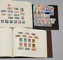 Tous pays - Collection de timbres-poste dont France et anciennes Colonies françaises, neufs et oblitérés, principalement 20e siècle,...