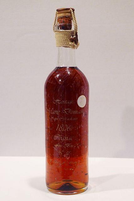 1 bouteille COGNAC - DOMAINE SAINT GYBARDEAUX 1806 Fins Bois