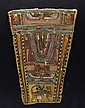Egyptian Cartonnage Pectoral Fragment, Ex-Christie's