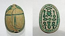 Superb Egyptian Scarab - Ex Mitry