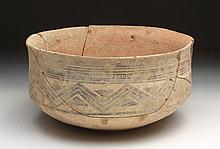 Large and Rare Indus Valley Bowl