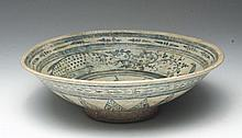 Anamese Pottery Fish Bowl