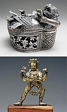Two Impressive 16th C. Metalworks from Southeast Asia