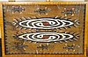AN ORIGINAL ASMAT BARK PAINTING