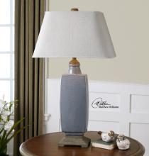 Tilton Light Gray Ceramic Table Lamp