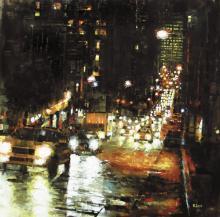 Bay Hill Lights by Mark Lague