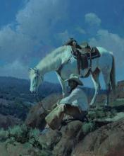 Under a Cowboy Moon by Bill Anton
