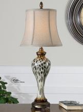 Malawi Cheetah Print Buffet Lamp