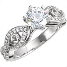 Sculptural Engagement Ring Base