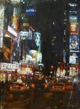 Manhattan Traffic by Mark Lague