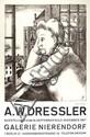 A. W. DRESSLER - Lithograph