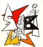 ALEXANDER CALDER - Color lithograph