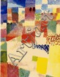 PAUL KLEE [AFTER] - Original color collotype