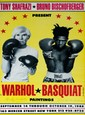 JEAN-MICHEL BASQUIAT & ANDY WARHOL - Original color offset lithograph poster
