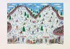 JAMES RIZZI - Color lithograph