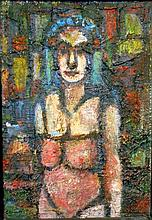 GEORGES ROUAULT [attrib] - Oil on board