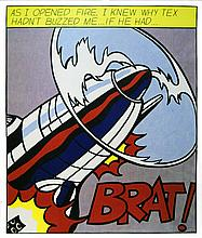 ROY LICHTENSTEIN - Original offset lithograph [3 prints - triptych]