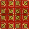 FRANK LLOYD WRIGHT/TALIESIN ARCHITECTS - Textile, Frank Lloyd Wright, $1,600