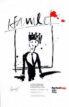 JEAN-MICHEL BASQUIAT - Color lithograph