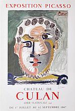 PABLO PICASSO - Color lithograph and collotype