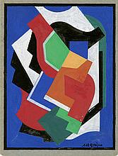 ALBERT GLEIZES - Gouache on paperboard